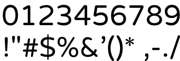 VarelaRound Шрифта ДРУГИЕ символов