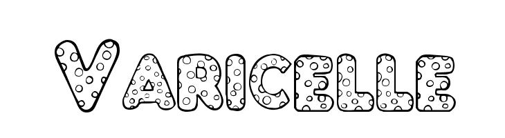 Varicelle  Free Fonts Download