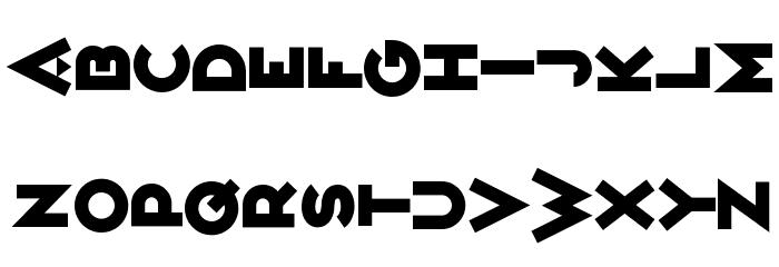 Variet� Ikarier Font UPPERCASE