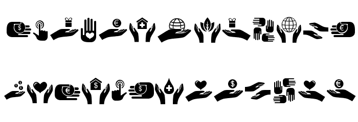 Various Hands Regular Font OTHER CHARS