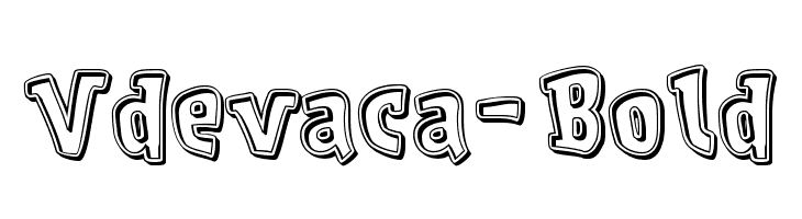 Vdevaca-Bold  Descarca Fonturi Gratis