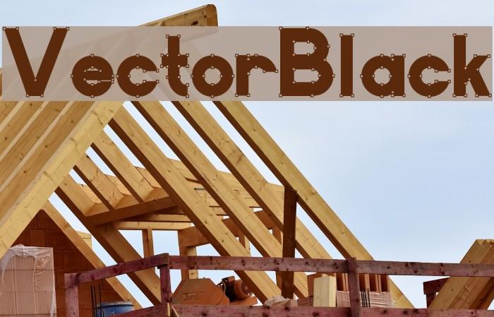 VectorBlack Font examples