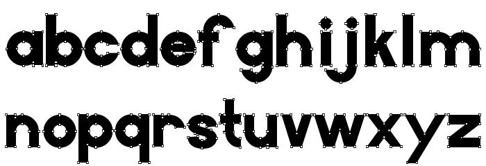 VectorBlack Font LOWERCASE