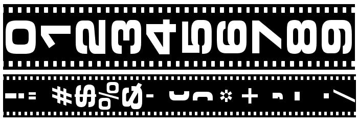 Vedette Noire لخطوط تنزيل حرف أخرى