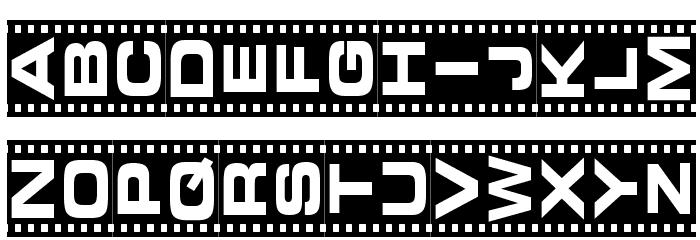 Vedette Noire لخطوط تنزيل الأحرف الكبيرة