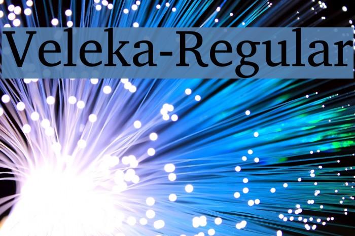 Veleka-Regular Fuentes examples