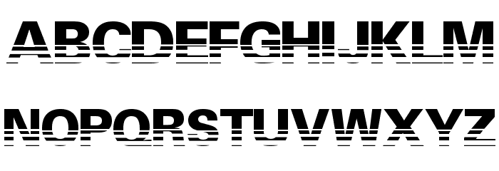Ventilate Font Litere mari