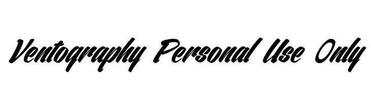 Ventography Personal Use Only  لخطوط تنزيل