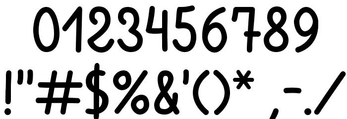 Ventura Edding Medium Font OTHER CHARS
