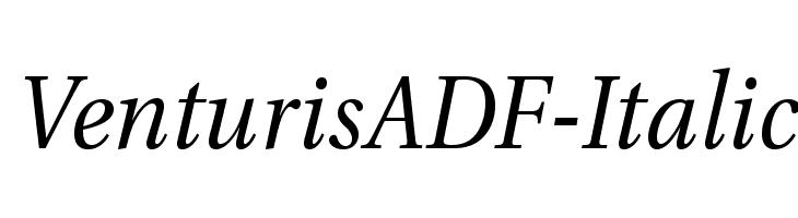 VenturisADF-Italic  baixar fontes gratis