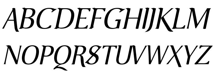 VenturisOldADF-Italic Font UPPERCASE