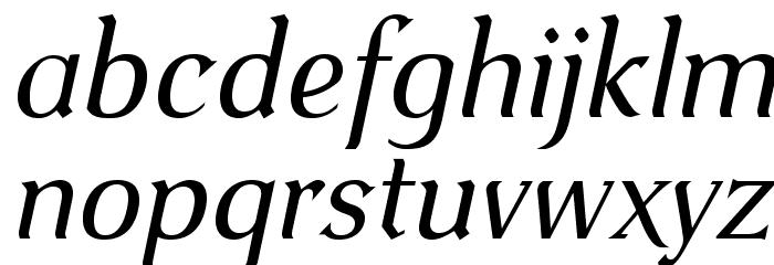 VenturisOldADF-Italic Font LOWERCASE