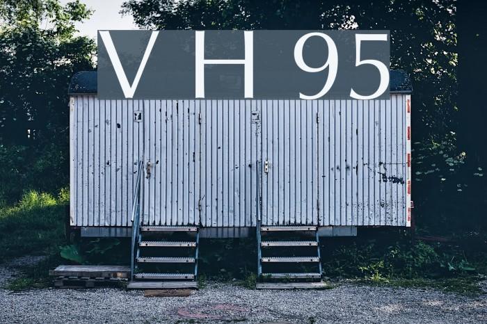 Vera Humana 95 फ़ॉन्ट examples