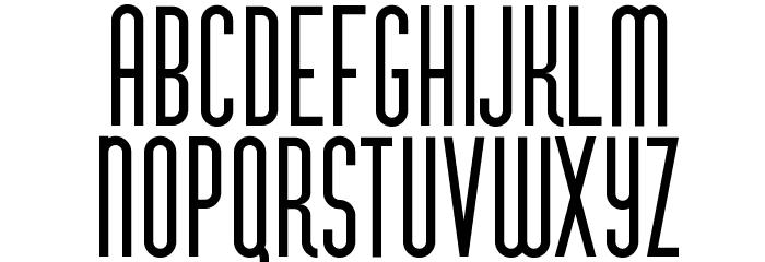 VertigoFLF-Bold Fonte MAIÚSCULAS