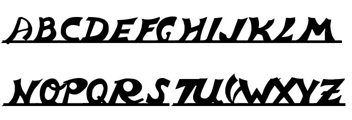vespa Font UPPERCASE