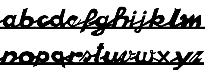 vespa Font LOWERCASE