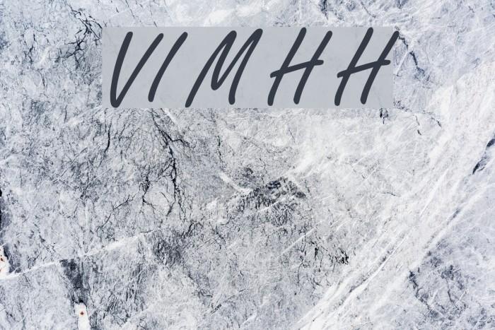VI My Ha Hoa फ़ॉन्ट examples