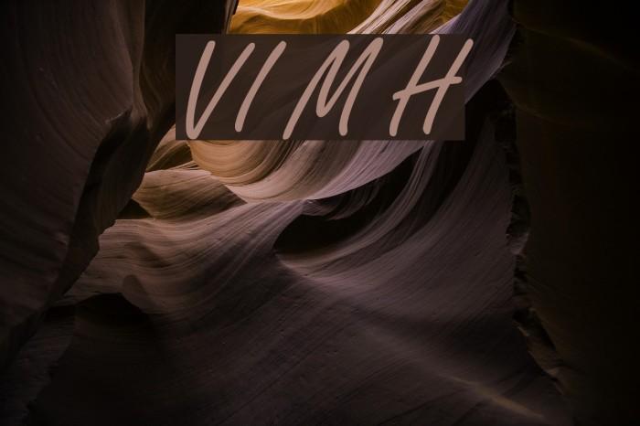 VI My Ha Font examples