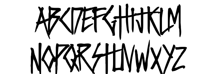 VIOLENT DESIRE Font Litere mici