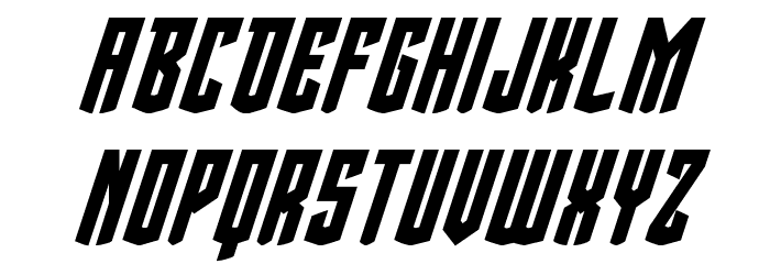 Viceroy of Deacons Bold Italic Font LOWERCASE