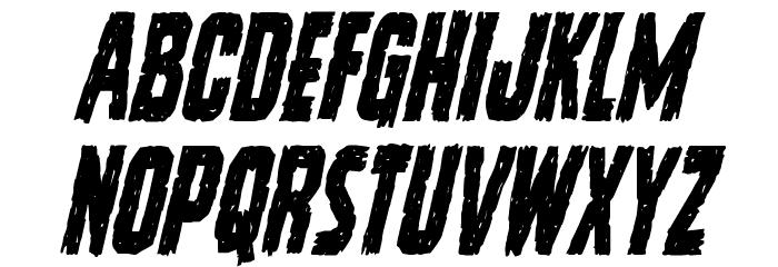 Vicious Hunger Condensed Italic لخطوط تنزيل الأحرف الكبيرة