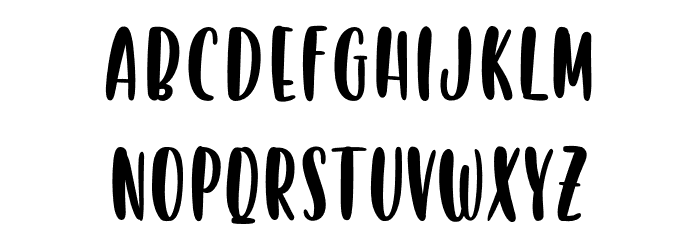 Victory Racket - Personal Use Font UPPERCASE