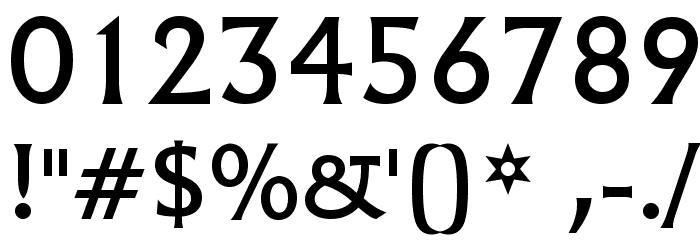 Village Font OTHER CHARS