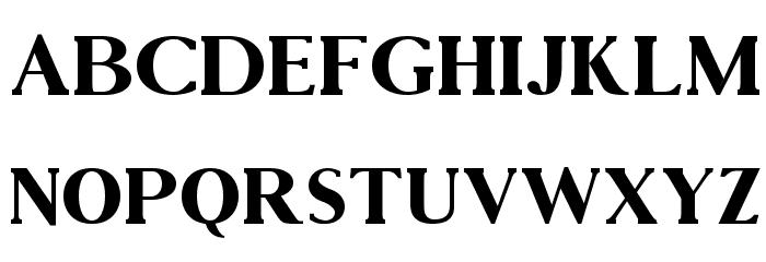 Vincentio Regular Font UPPERCASE