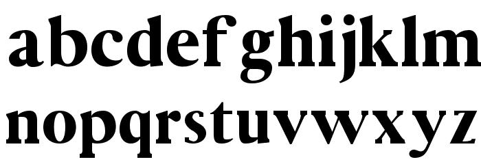 Vincentio Regular Font LOWERCASE