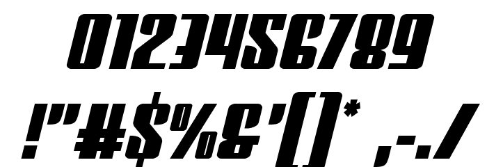Vindicator Semi-Italic Fonte OUTROS PERSONAGENS