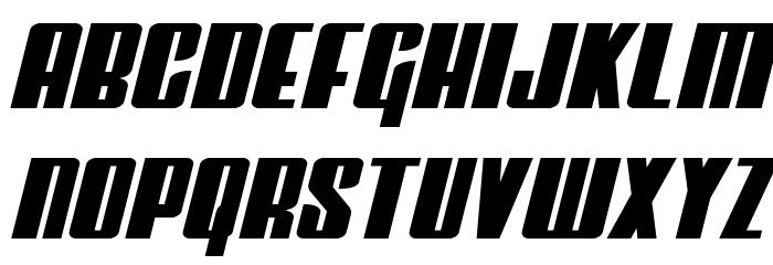 Vindicator Semi-Italic Fonte MINÚSCULAS