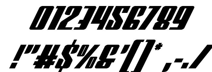 Vindicator Super-Italic Fuentes OTROS CHARS