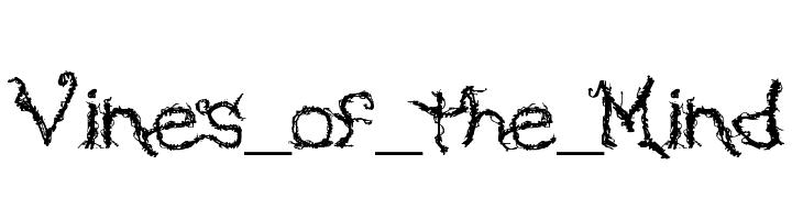 Vines_of_the_Mind  font caratteri gratis