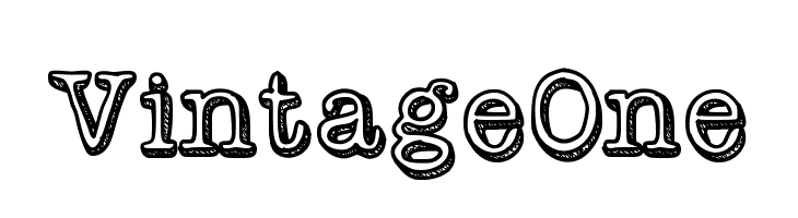 VintageOne  Free Fonts Download