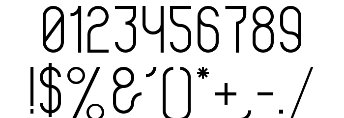 Violette Font OTHER CHARS