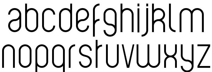 Violette Font LOWERCASE