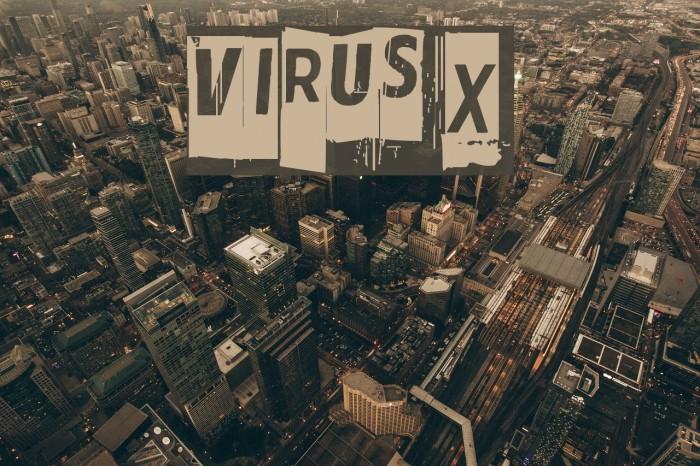 Virus X Шрифта examples
