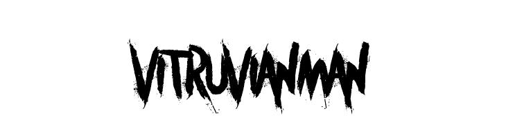 Vitruvian Man  Free Fonts Download