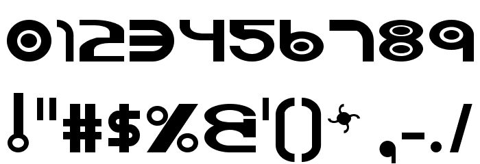Vocaloid Font OTHER CHARS