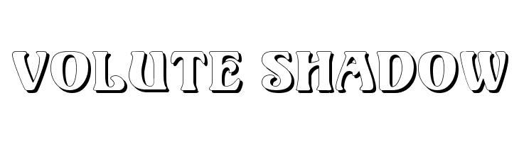 Volute Shadow  baixar fontes gratis