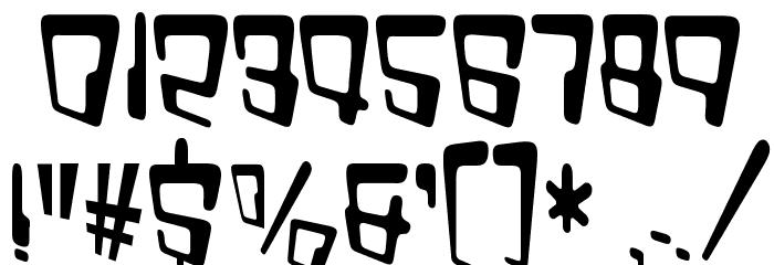 VTC Bad DataTrip Regular Font OTHER CHARS