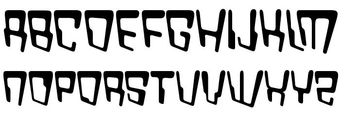 VTC Bad DataTrip Regular Font UPPERCASE