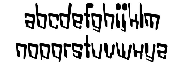 VTC Bad DataTrip Regular Font LOWERCASE