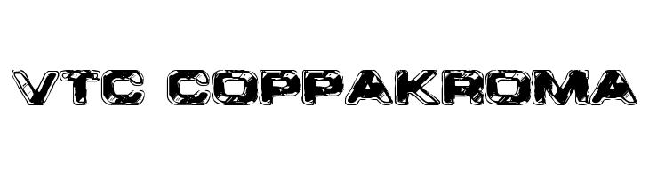 VTC CoppaKroma  नि: शुल्क फ़ॉन्ट्स डाउनलोड