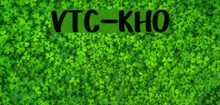 VTC-KomikaHandOne Шрифта examples