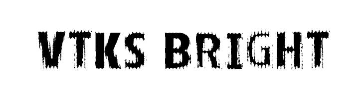 VTKS BRIGHT Schriftart