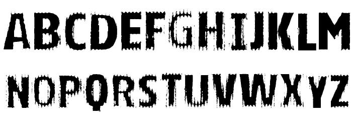 VTKS BRIGHT Schriftart Groß