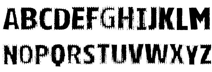 VTKS BRIGHT Schriftart Kleinbuchstaben