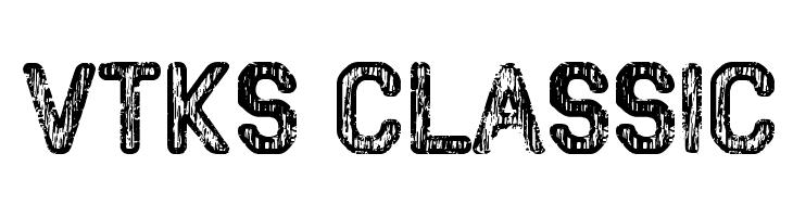 VTKS CLASSIC  Descarca Fonturi Gratis