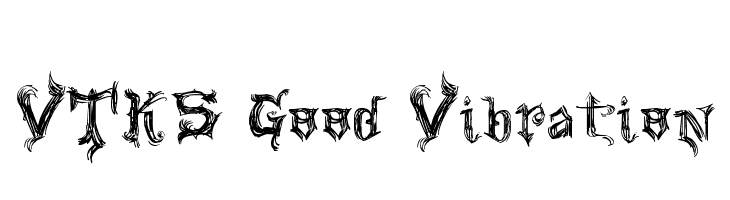 VTKS Good Vibration  Free Fonts Download